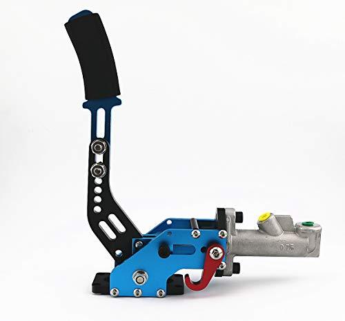 QIKE Universal Car Hydraulic Handbrake Racing Handbrake Drift Rally E Brake Brake Parking Color Black (Blue)