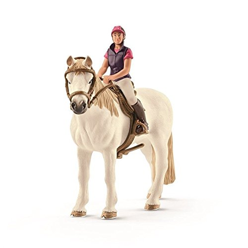 ca Recreational Rider with Horse Toy Figure (Horse And Rider)