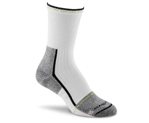 FoxRiver Women's Her Steel-Toe Crew Socks, Black, Large