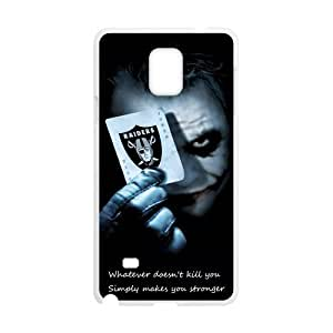 Super Custom Unique Design Oakland Raiders Samsung Galaxy Note 4 Silicone Case