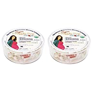 Three Lollies Organic Preggie Pop Drops Assorted Flavors (Pack Of 2) Sour Lemon, Sour Raspberry and Green Apple Flavors, 21 Count Total