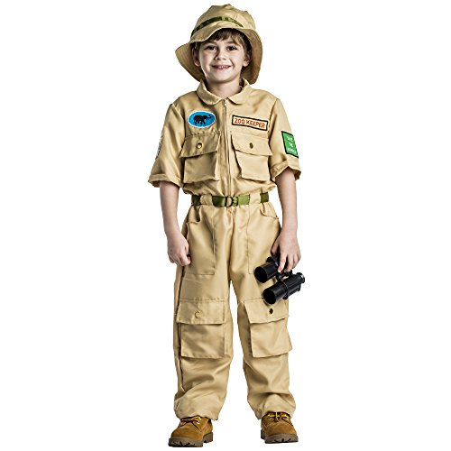 Dress Up America Zoo Keeper- Small -