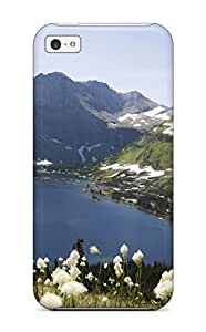 Iphone Premium Protective Hard Case For Iphone 5c Nice Design Glacier National Park