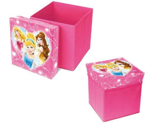 Caja de Juguetes Plegable dise/ño de Princesas Fun House 712441