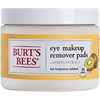 35 Count Burts Bees Eye Makeup Remover Pads