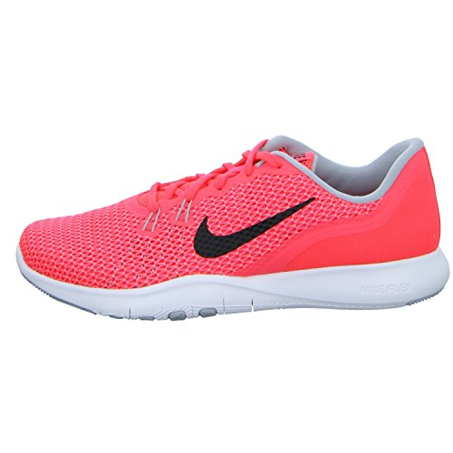 898c2da03f14 NIKE WOMENS W NIKE FLEX TRAINER 7 SOLAR RED BLACK HOT PUNCH SIZE 9.5 ...