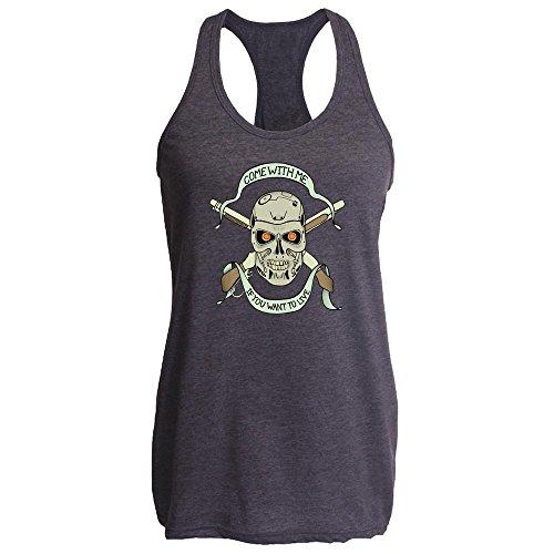 Pop Threads - Camiseta - para hombre Heather Charcoal
