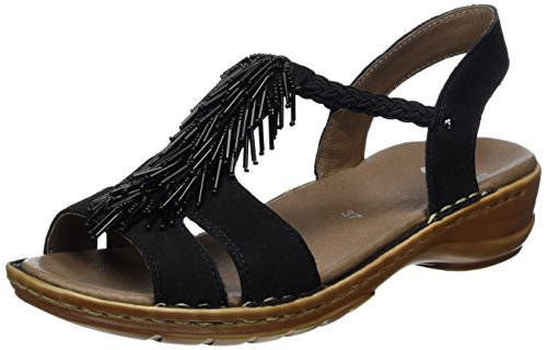 Sandals ARA Women's Bar Black Black T Hawaii qqPZFx7O