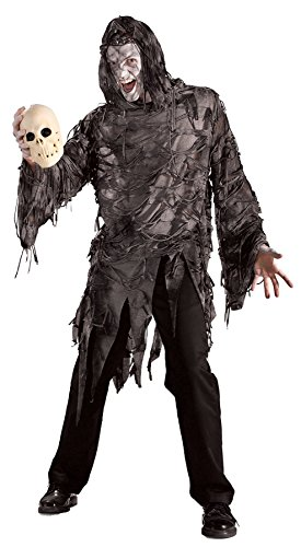 UHC Men's Scary Zombie Creature Lord Gruesome Fancy Halloween Costume, Standard (Up To 44)
