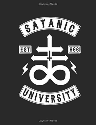 Satanic University: 8 5 x 11 | 120 Page Grimoire | Personal