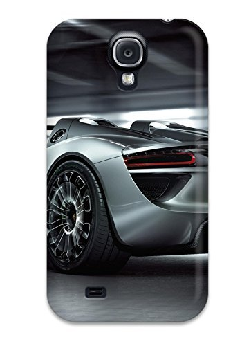 7061225K30610349 Premium 2011 Porsche 918 Spyder 2 Back Cover Snap On Case For Galaxy S4