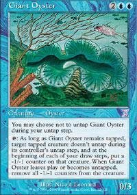Magic: the Gathering - Giant Oyster - Timeshifted