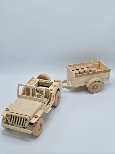 - WWII Jeep & Trailer