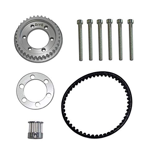 DIYE 36T ABEC Pulley 10MM Width Combo KIT Parts