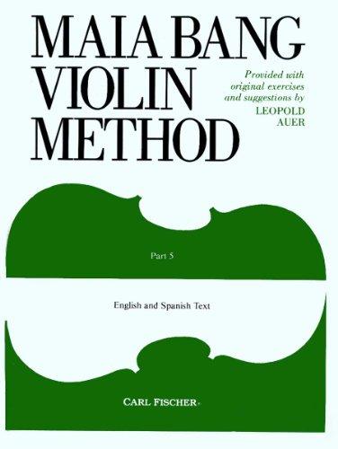 O46 - Maia Bang Violin Method, Part 5