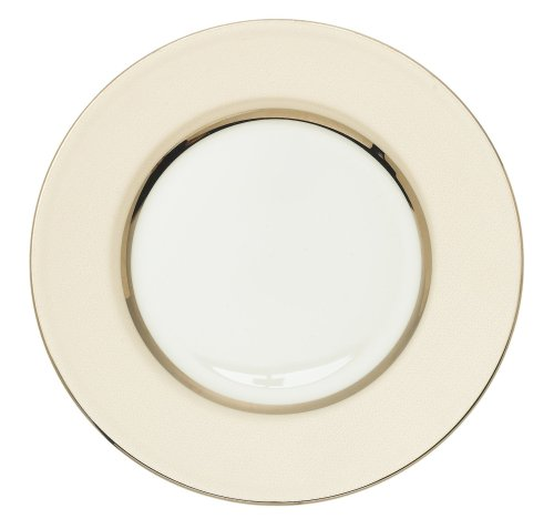 Royal Doulton Platinum Silk - Royal Doulton Platinum Silk Accent 9-inch Plate Champagne