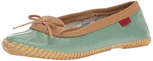 Chooka Women's Waterproof Ballet Flat, Sage, 6 M US by Chooka