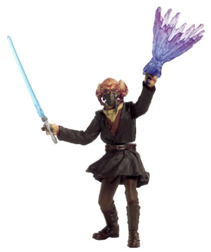 Star Wars, 2002 Saga Collection, Plo Koon Action Figure #12 [with Insert], 3.75 Inches