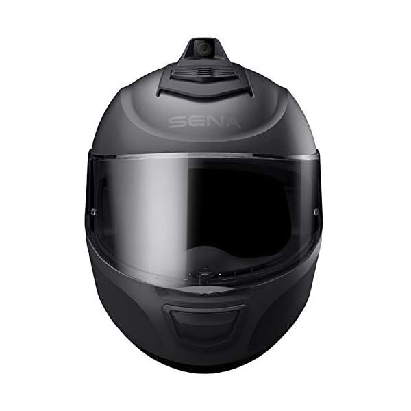 SENA Momentum Inc Pro Bluetooth Camera Helmet 2XL Matte Black