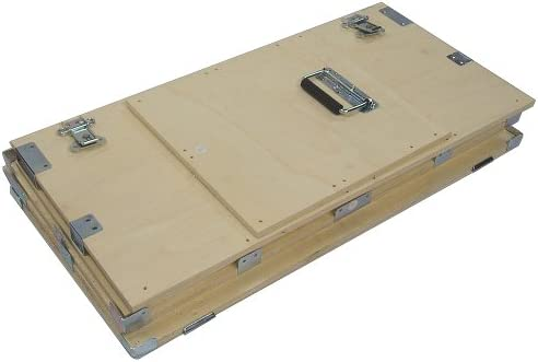 Crate Style 1 2 Inch Bare Wood Cable Trunk Case Extra High – Kit Form – Inside Dimensions 44 X 21 X 25 High