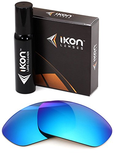 Polarized Ikon Iridium Replacement Lenses For Oakley X-Metal Juliet Sunglasses - Ice - Sunglasses X Metal