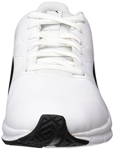 Flexracer White Erwachsene Unisex black Low SL Weiß Puma Top w0pq5
