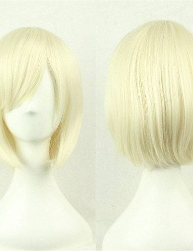 ahom peluca Noble cosplay peluca/New/Anime COS Luz pelo rubio Pelucas