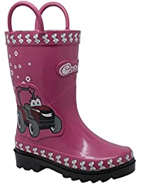 3D Fern Farmall Rubber Boot Kids Toddler-Youth Boot