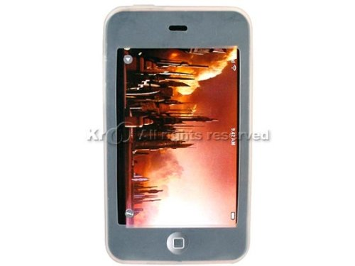 Fosmon Premium Quality Apple iPod Touch 2nd Generation 8Gb / 16Gb / 32Gb Silicone Skin Case - Clear (Touch Keypad Ipod)
