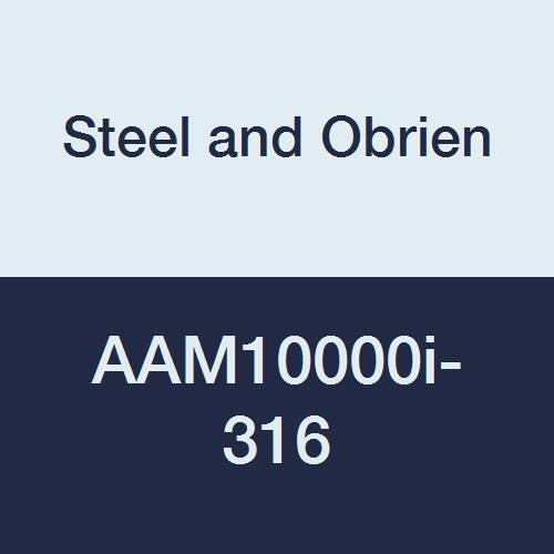 10 x 1-1//2 OAL 10 x 1-1//2 OAL Steel and Obrien AAM10000i-316 Stainless Steel L14AM7 Butt Welding Ferrule