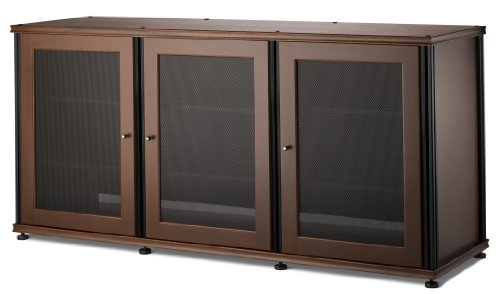 Salamander Designs SB337W/B Synergy Triple A/V Cabinet with Three Doors Collection Flat Panel Video Base