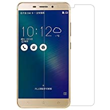 Kepuch ASUS Zenfone 3 Laser ZC551KL Screen Protector - 2 Pack Tempered Glass Film 9H Hardness Curved Edge Protection for ASUS Zenfone 3 Laser ZC551KL