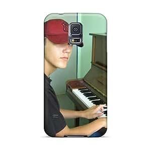 TrevorBahri Samsung Galaxy S5 High Quality Cell-phone Hard Covers Unique Design Stylish Playpiano Skin [WMk138iGJZ]