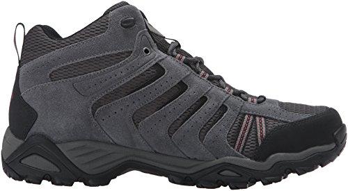 Columbia Dark Boot North Grey Hiking Plains Red Mid Garnet Ii Men's Waterproof TqwTxC4H