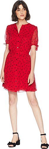 Juicy Couture Women's Charlotte Floral Flirty Dress Ditsy Floral Petite/X-Small -