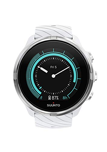 Suunto 9 Multisport GPS Watch with Wrist Heart Rate (White)