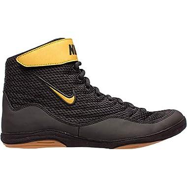 best service 88019 6f8b1 Nike Men s Inflict 3 Wrestling Shoes (Black Black, ...
