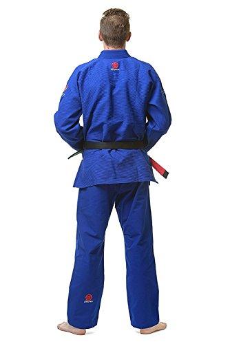 Flow Kimonos Air BJJ Jiu Jitsu Gi (Blue, A2)