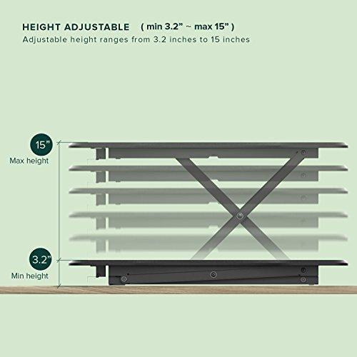 Get Zinus Smart Adjust Standing Desk Adjustable Height