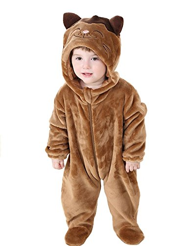Tonwhar Unisex-baby Cute Animal Costume Cartoon Romper (90(Height:29