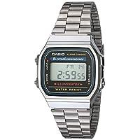 Reloj Casio Vintage A168WA-1 Electro Luminiscencia para hombres