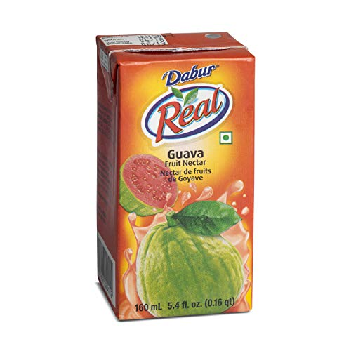 Dabur Real Guava Fruit Nectar 160ml (pack of 4)
