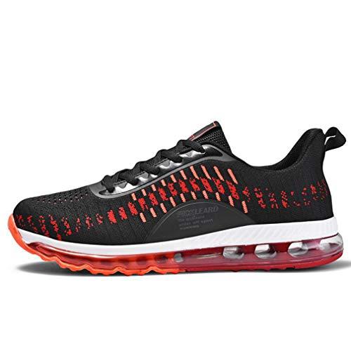 blackred Ginnastica Studente Scarpe Casual Piedi Hy A Traspirante Uomo Primavera Accademia Corsa Blackred Comfort 46 Sneakers Da 6SnxCOwq