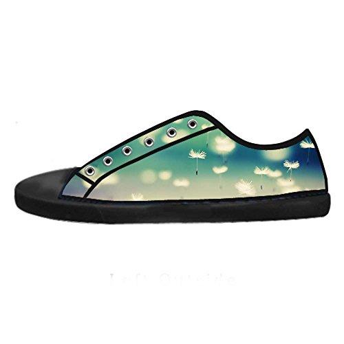 Shoes I Scarpe Women's Alto Da Ginnastica Lacci Canvas Delle Tetto Dente Di Leone Custom qYCXSw