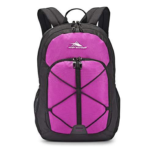 High Sierra Daio Backpack, Hyacinth/Black