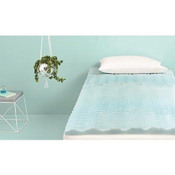 blue twin mattress. Room Essentials Foam Mattress Topper - Blue Twin I