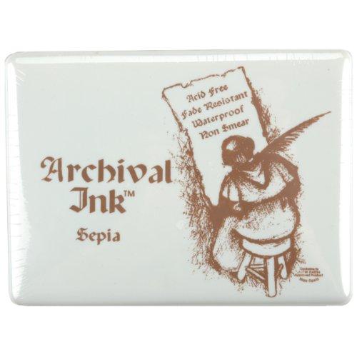 Archival Jumbo Inkpad #3-Sepia