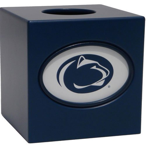 Fan Creations C0535-Penn State University Box Cover Tissue Holder by Fan Creations