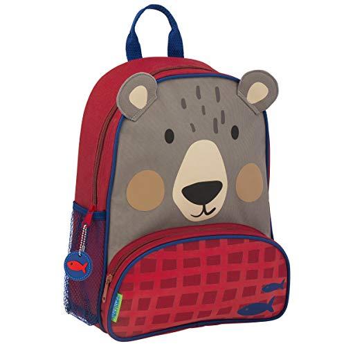 (Stephen Joseph Boys' Little Sidekicks Backpack, Bear)