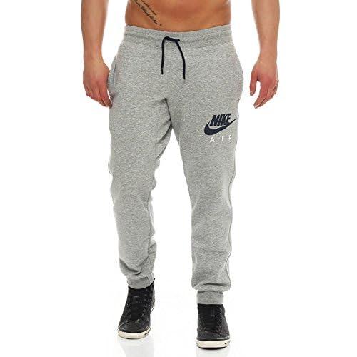 51e7a73fbb22 outlet Nike Air Mens Fleece Jog Pants Slim Fit Sweatpants Fleece Black Grey  727369